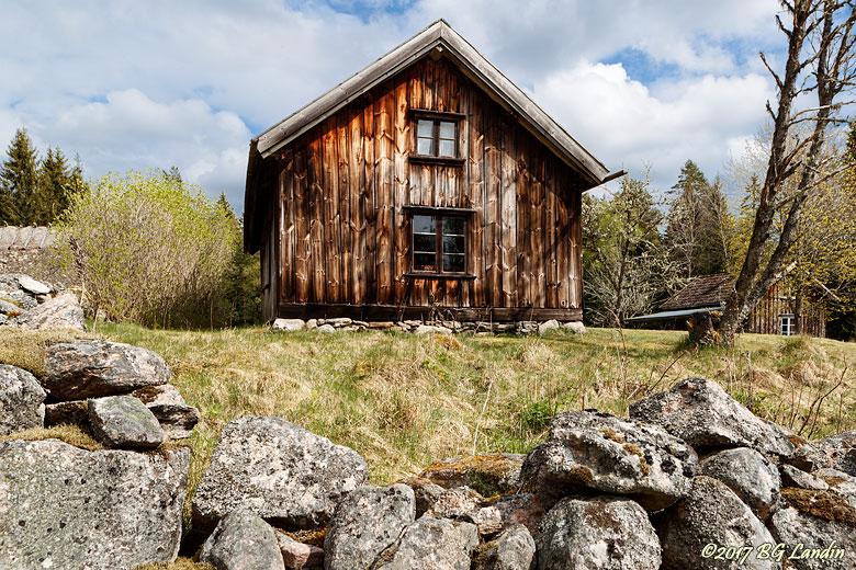 Gammalt hus i Bastöna