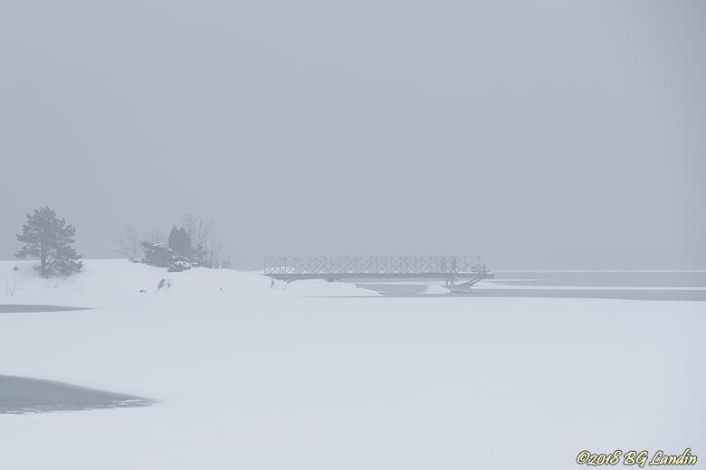 Brygga vid Stora Sörvik