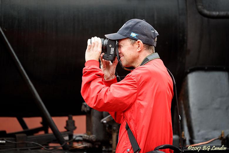Fotograferad fotograf