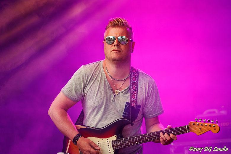 Gitarrist i Liedström & Co