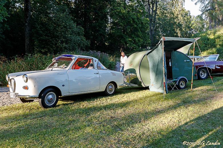 Goggomobil med husvagn