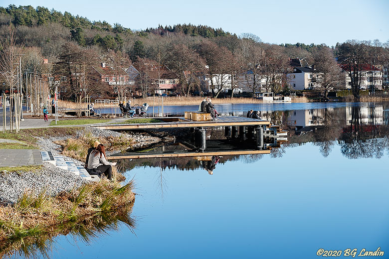 En vacker januaridag i Alingsås