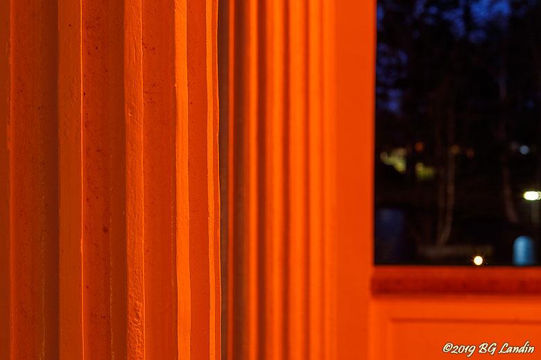 Orange pelare