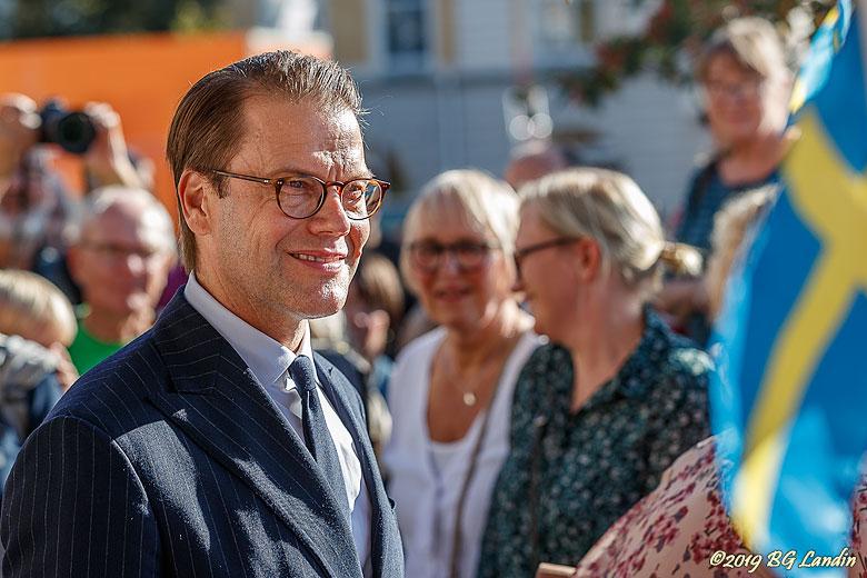 Prins Daniel i Alingsås