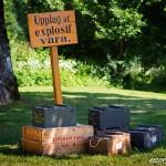 Upplag af explosif vara