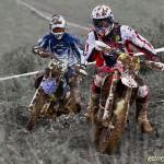 Närkamp i leran