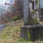 Hoppbacken i Hindås vittrar och rostar