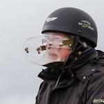 Strutförsedd mopedist