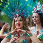Karnevalsdeltagare i Hammarkullen 2014