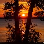 Solnedgång i oktober