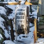 Vatten som frusit till is