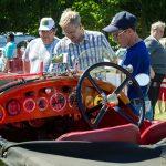 En Bentley på Hjulets dag 160605