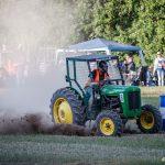Snabb traktor i Södra Lundby