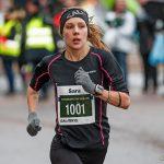 Snabbaste kvinnan vid Sylvesterloppet 2017