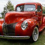 En Ford Pickup på veteranträffen 180823