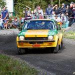 Opel Kadett GT/E på SS1 i Strömkarlen 2018