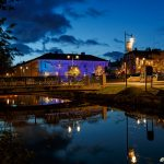 Telegrafhuset by night