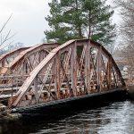 Järnvägsbro vid Jonsereds fabriker