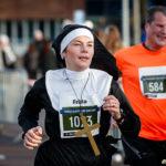 En nunna i Sylvesterloppet