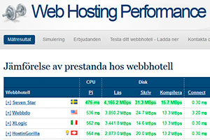 Web Hosting Performance