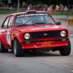 En Ford Escort i Nossebro City Race 2016